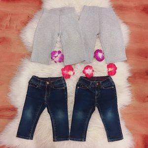 Other - Bundle of 4 girl pants